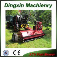 15hp gasoline CE certificated ATV flail mower grass cutter