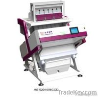 CCD color sorter for rice