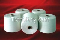 100% raw white ring spun carded and combed cotton yarn for knitting