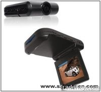 night vision car DVR camera, 2.5inch TFT colorful screen camera