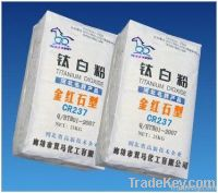 painting industry CR237 Tio2 Rutile Pigment