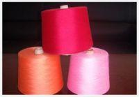 dope dyed polyster spun yarn,32s/1
