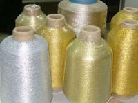 METALLIC YARN FOR EMBROIDERY PURE SILVER PURE GOLDEN MOROCCO
