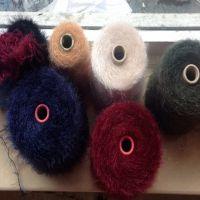 Fur Sweater Like Used Yarn