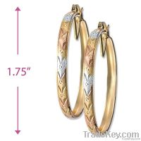 Bangle hoop earrings
