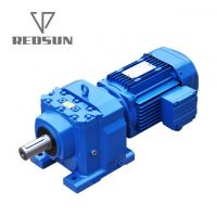 R series helical gear box
