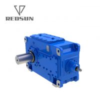 Industrial B series spiral bevel right angle gear reducer