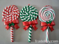 Polymer clay dough christmas ornaments for Mascot tree