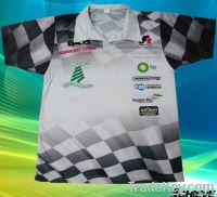 custom sublimation polyester polo shirt supplier