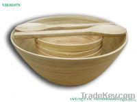 Natural Bamboo Bowl