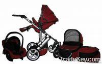 3 Wheels Baby Stroller