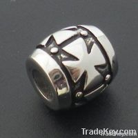 2012 fashion steel pan.beads with flowers