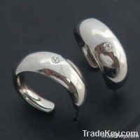 2012 fashion steel earrings for women