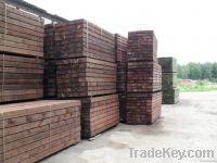 pressure treated softwood railway sleepers
