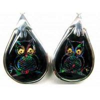 Owl Earring 1 Code B1 Ear