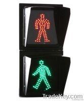 200mm LED Static Red/Green Man Pedestrian Traffic Signal Lamp