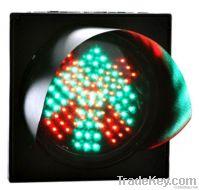 200mm Red Cross and Green Arrow Traffic Light