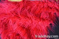 curly long pile faux fur