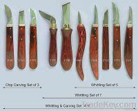 Wood carving tools set