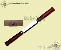 Two Handed Push Draw Knife