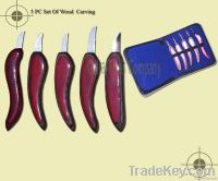 Chip carving knives/tools