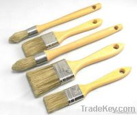 high quality white bristle paint brush