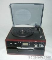retro hi-fi usb turntable player