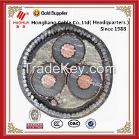 300mm2 XLPE insulation copper conductor Armoured cable