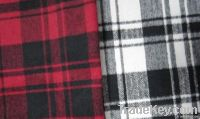 woolen brushed fabric