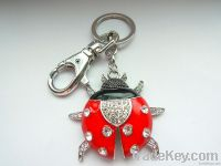 Ladybird key chain