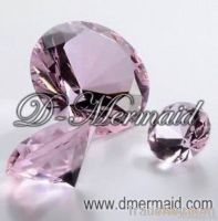 Crystal diamond paperweight, crystal diamond decoration