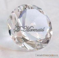Crystal diamond paperweight, crystal diamond decoration
