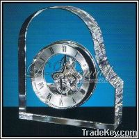 new cristal table clock, nice business gift