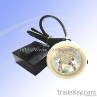 15000 lux corded LED miner safety cap lamp