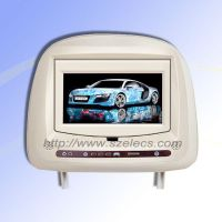 7 inch  Headrest DVD player  withTouch screen
