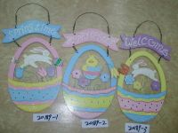 Wooden Easter Hanging