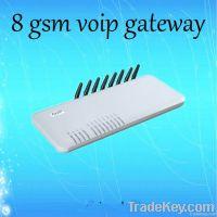 8-channel gsm voip gateway