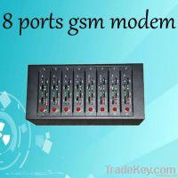 8 sim card ports wavecom module 8 channels gsm modem