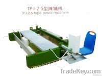 paver machine for sports field TPJ-2.5