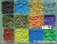 EPDM rubber granule for sports surface
