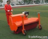 artificial turf brushing machine