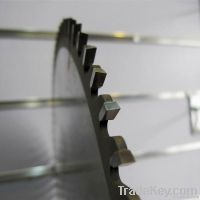 Laminated cutting saw blade