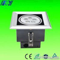 7W LED grille light