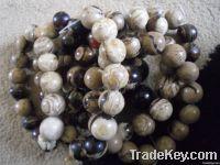 Beads White Amber