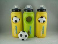 Fashionable BPA free plastic sport water bottle