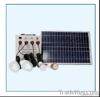 30W portable power lighting system/ solar generator