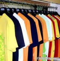 Cotton and Poly Cotton t-shirts