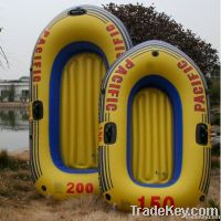 two seat inflatable fishing boat