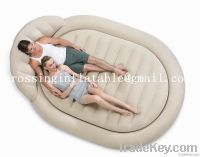 round inflatable bed, inflatable bed mattress