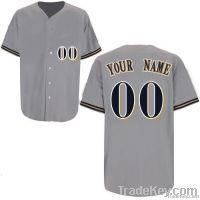 Brewers AwayAny Name Any # Custom Baseball Jersey Uniforms